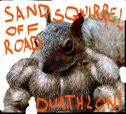 Contests Logo Sand Squirrel Off-Road Duathlon 2021